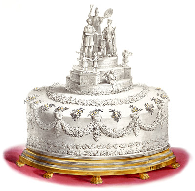 queen Victorias wedding cake
