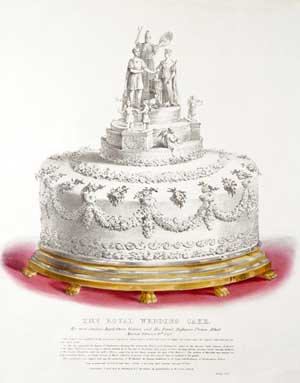 Queen Victoria Wedding Cake