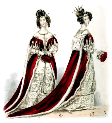 Royal Victorian Dresses